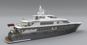 super yacht concept design