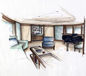 Interior concept design for Interior design concept