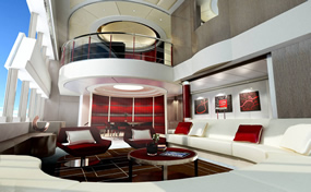 Yacht interior design materials 9th
